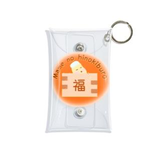 豆の檜風呂 Mini Clear Multipurpose Case