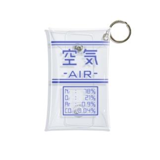 空気いれ Mini Clear Multipurpose Case