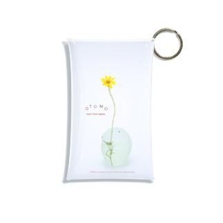 お花とおとも Mini Clear Multipurpose Case
