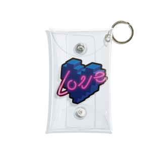 loveネオン Mini Clear Multipurpose Case