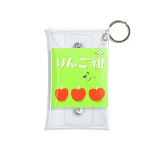りんご組 Mini Clear Multipurpose Case
