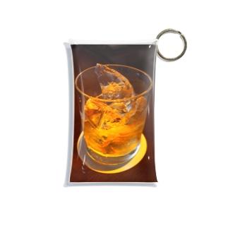 ウィスキーをロックで Mini Clear Multipurpose Case