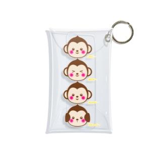 ウッキー♪ Mini Clear Multipurpose Case