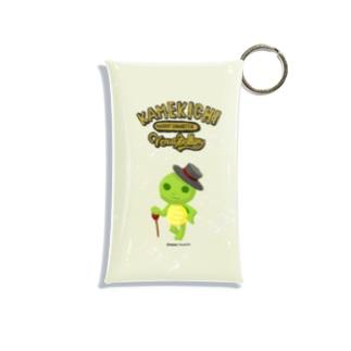 カメ吉紳士 Mini Clear Multipurpose Case