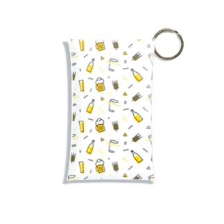 ビール モノグラム Mini Clear Multipurpose Case