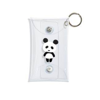 パンダリンゴのパンダ Mini Clear Multipurpose Case