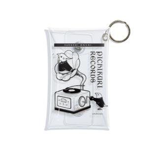 ぴちくりレコーズ(オカメインコ・文鳥) Mini Clear Multipurpose Case