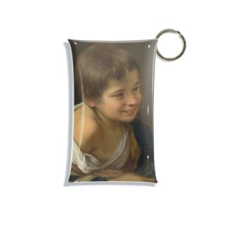 ムリーリョ(スペイン、1617-1682) 《窓枠に身を乗り出した農民の少年》 Mini Clear Multipurpose Case