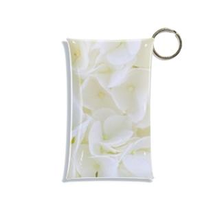 花のような貝殻 Mini Clear Multipurpose Case
