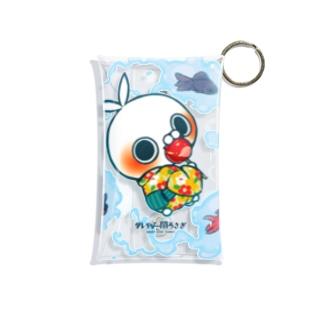 浴衣とりんご飴(A) Mini Clear Multipurpose Case