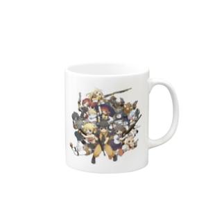 5周年記念イラスト マグカップ