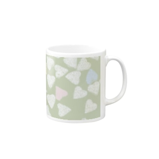 The love is multicolored Mugs