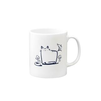 ごはんすきなねこ Mug