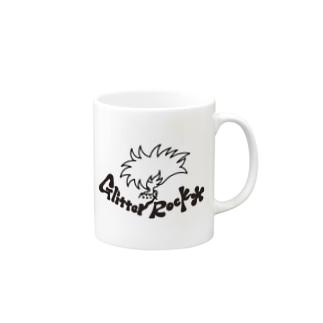 グリッターロック Mugs