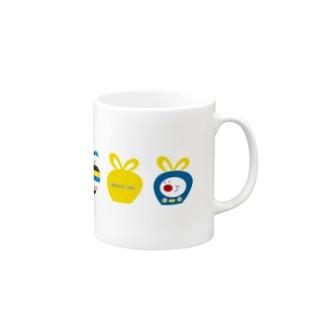 TVくん(No.2)(ホワイト) マグカップ