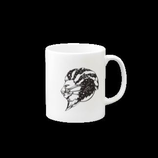 arinosのしし座マグカップ