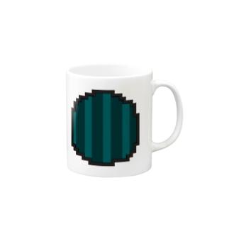絶品スイカアイコン Mugs