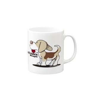 ビーグル犬 Mugs