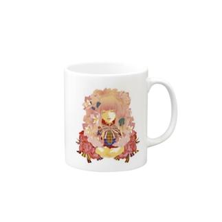 少女アリス-(白) Mugs