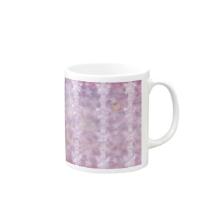 「花籠」Series * butterflyhearts pink Mugs