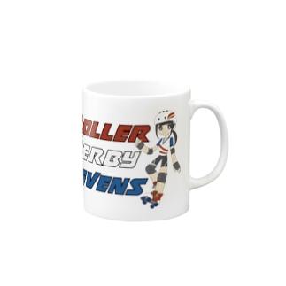 Roller Derby Sevens Mugs