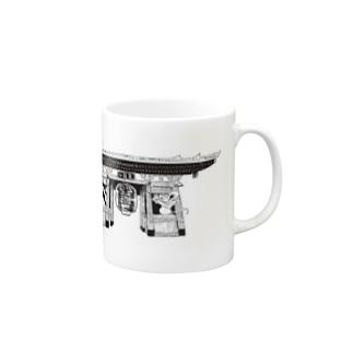 雷門 Mugs