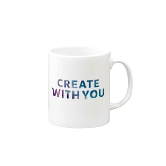 CREATE WITH YOUシリーズ Mugs
