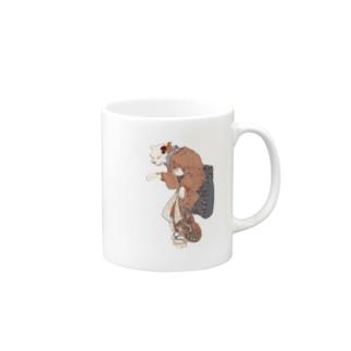 艶やかな芸者猫 Mugs