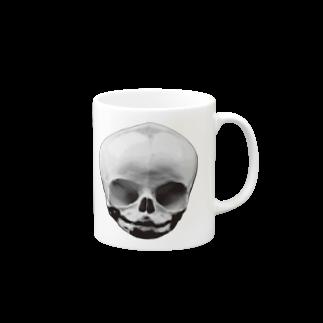 yamico835のBABY SKULL Mugs
