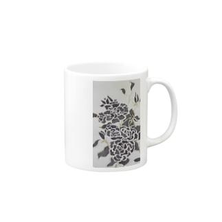 Black Rose Mugs
