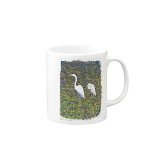 サギ02 Mugs