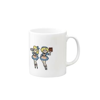 ウェイトレス Mugs