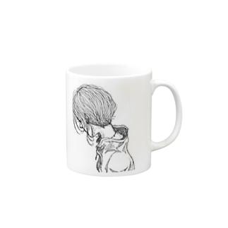 drawing-phoneCASE0001 Mugs