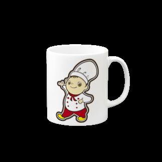 plusworksのコックさん Ver.2マグカップ
