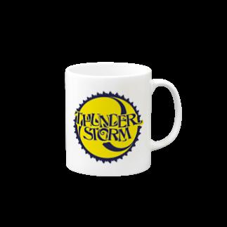 plusworksのサンダーストーム Mugs