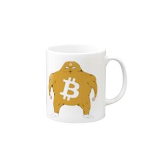 ビットコイン君 マグカップ