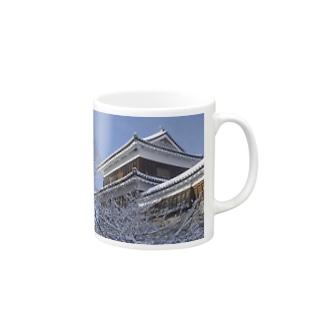 上田城(冬) Mugs