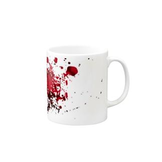 血飛沫 Mugs