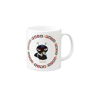 ブラックジョーカーのクレコちゃん Mugs
