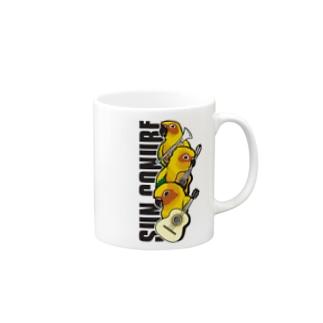 コガネメキシコインコのマリアッチ マグカップ