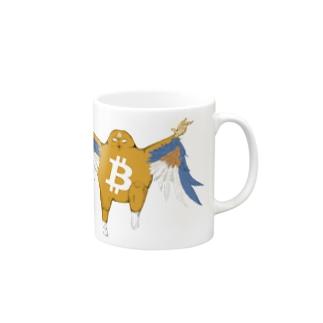 ビットコイン君BFバージョン マグカップ