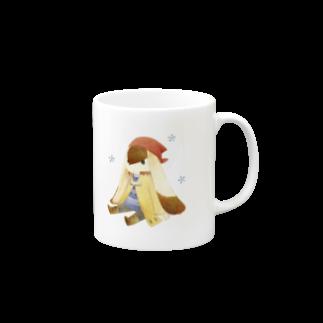Tea Drop Sのおすわり Mugs