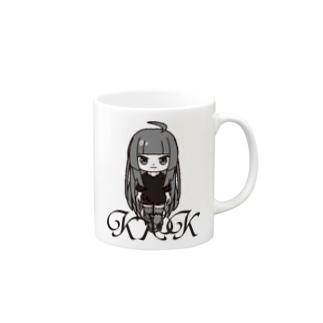 きくこモノクロシリーズ Mugs