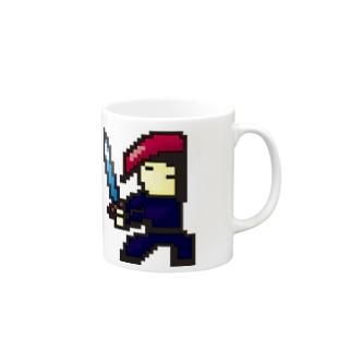 ソルジャーアイコン Mugs