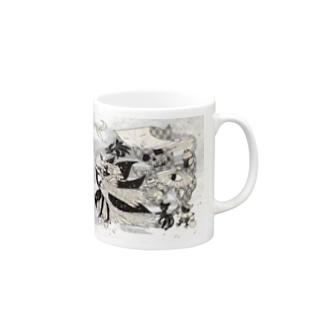 """「百歳」Series * Hyakkiyako""""HanaKoAn""""ver. Mugs"""