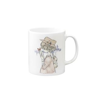 お気に入りのリュックの中には Mugs