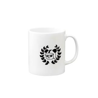 レーサーパンダ Mugs