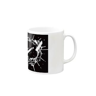 爆破。ショックver. Mugs