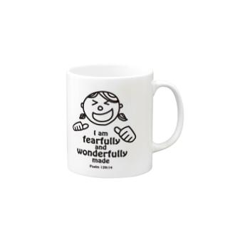 わたしは神様の最高傑作!(絵柄:女の子) Mugs