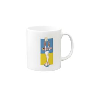 スケボー少女 Mugs